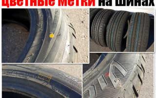 Что означают полоски на шинах