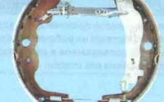 Рено логан замена задних тормозных колодок