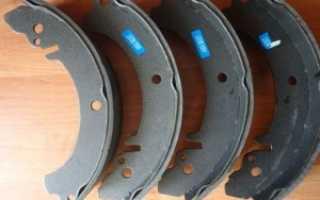 Замена задних колодок ваз 2107