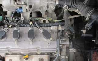 Датчик температуры двигателя на двигателе qg13
