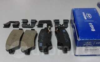 Замена задних тормозных колодок киа рио