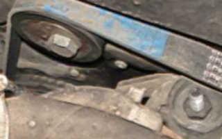 Ваз 2110 замена ремня генератора