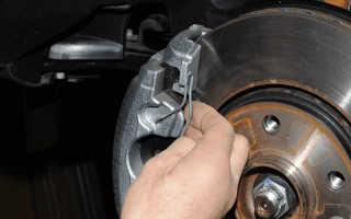 Рено дастер замена задних тормозных колодок