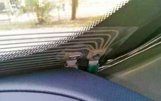 Замерзают окна в машине изнутри что делать