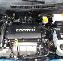 Chevrolet aveo 2008 какой двигатель