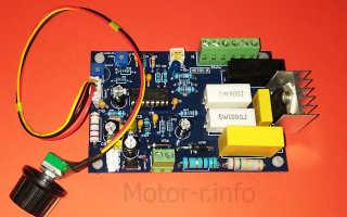 Tda1085c регулятор оборотов коллекторного двигателя