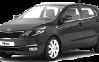 Kia rio 2013 технические характеристики двигателя