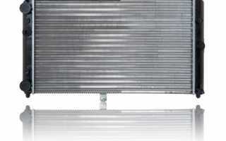 Чем заменить радиатор охлаждения двигателя ваз