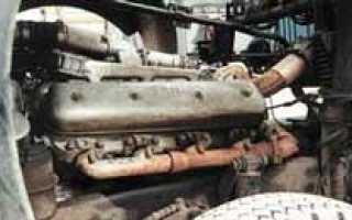 Давление на двигателе ямз 238 турбированный