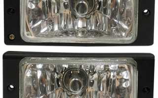 Установка противотуманных фар ваз 2110