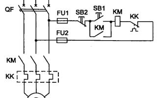 Устройство и принципиальная схема асинхронного двигателя