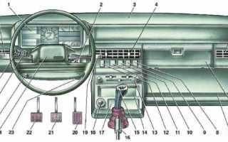 Ваз 2109 как снять торпеду