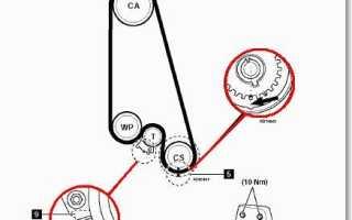 Шевроле ланос замена ремня грм