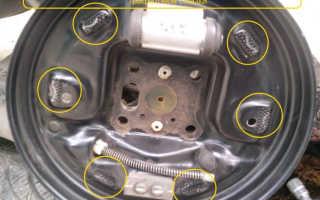 Замена тормозных колодок форд фьюжн