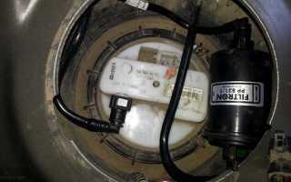 Замена топливного фильтра на рено дастер