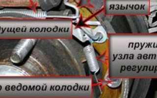 Замена задних тормозных колодок шевроле авео