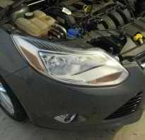 Форд фокус 3 замена лампы ближнего света