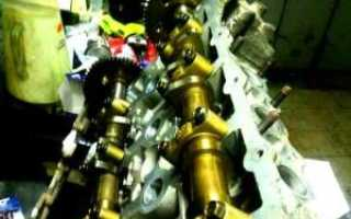 Что такое регулировка клапанов двигателя