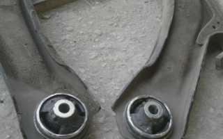 Замена сайлентблоков передних рычагов ниссан кашкай