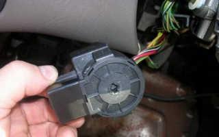 Как снять замок зажигания форд фокус 2