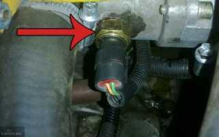 Датчик температуры двигателя ниссан микра