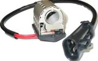 Вентилятор охлаждения двигателя работает одна скорость
