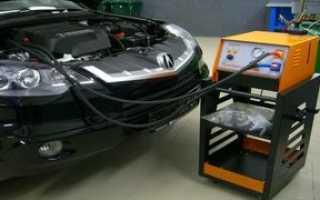 Аппарат для промывки двигателя своими руками