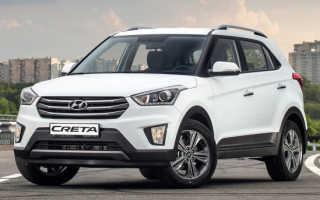 Hyundai creta технические характеристики двигателя