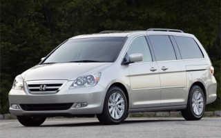 Хонда одиссей 2001 расход топлива двигателя