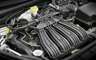 Chrysler pt cruiser двигатель от чего