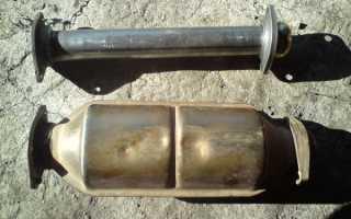 Замена катализатора на ваз 2114